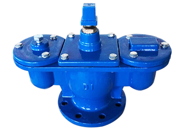 Double Orifice Air Valve Flange drilled to EN1092-2